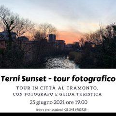Con 'Terni sunset' la storia della città si riscopre al tramonto