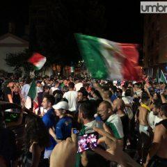 L'Italia del calcio sul tetto d'Europa: la festa a Terni
