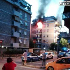Video – Terni, incendio distrugge abitazione a Cardeto