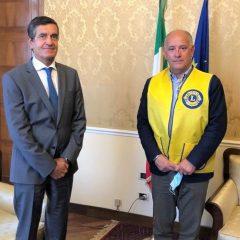 Lions Club Terni Host presenta 'Alert Team' a prefetto e sindaco