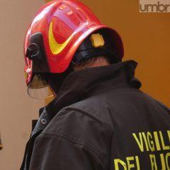 Maltempo, Gualdo Tadino: famiglia evacuata per le infiltrazioni d'acqua
