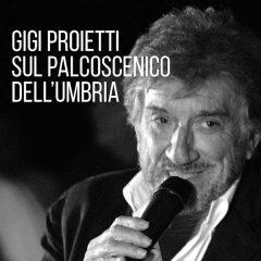 Gigi Proietti e «il vizio dell'Umbria» nel libro di Mara Quadraccia