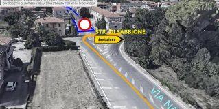 Terni, lavori stradali in via Narni: cambia la viabilità. Le modifiche