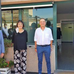 Terni: Donatella, Gabriella e Nicola salutano la questura
