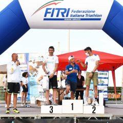 Triathlon, Settimi trionfa a Giulianova. Con dedica a Rivelli
