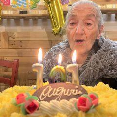 Narni, festa per i 101 anni di Liliana Marani