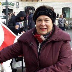 Terni, una vita di impegno e passione: ciao Maria Cristina