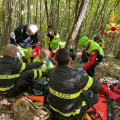 Nocera, cade durante la battuta di caccia: 71enne in rianimazione